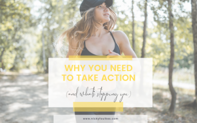 Why you need to take action