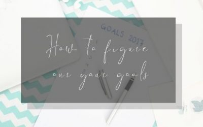 How to figure out your goals