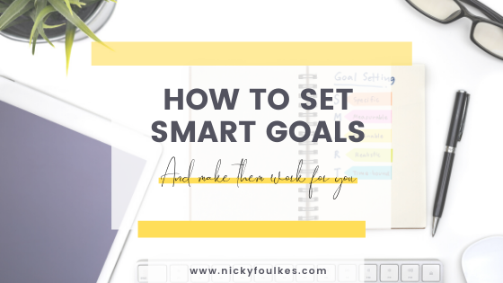 How to set SMART goals