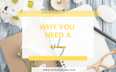 Why you need a 'why'