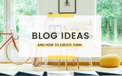Blog ideas and how to create them